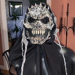 ugly skull demon halloween mask